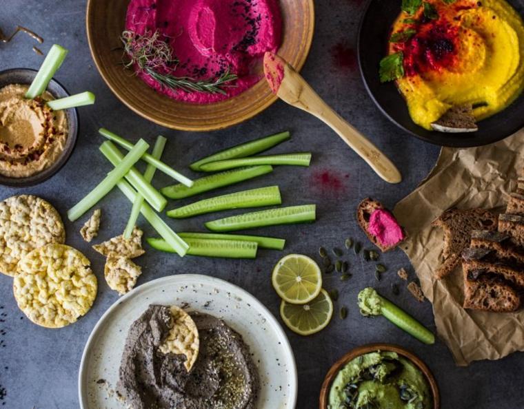 recetas caseras-salsa-pates-veganos-faciles