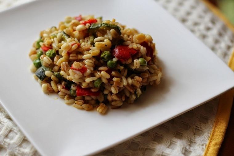 recetas comida vegetariana risotto ideas