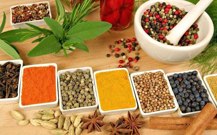 recetas de cocina fáciles-especies