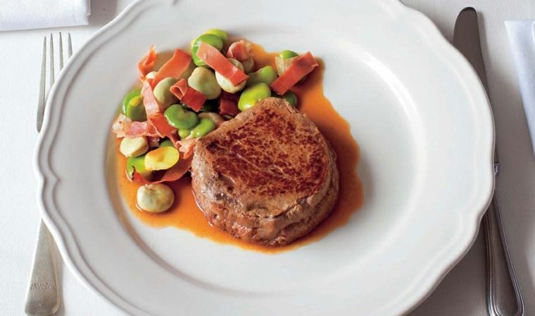 Receta de filetes de ternera en salsa tipos de salsas - Cocinar rabo de ternera ...