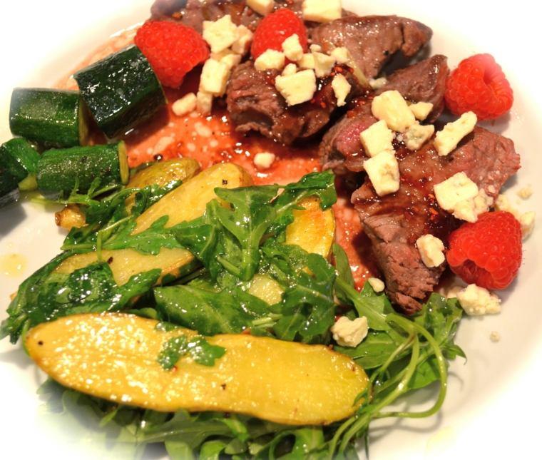 recetas de filetes de ternera en salsa comer cenar