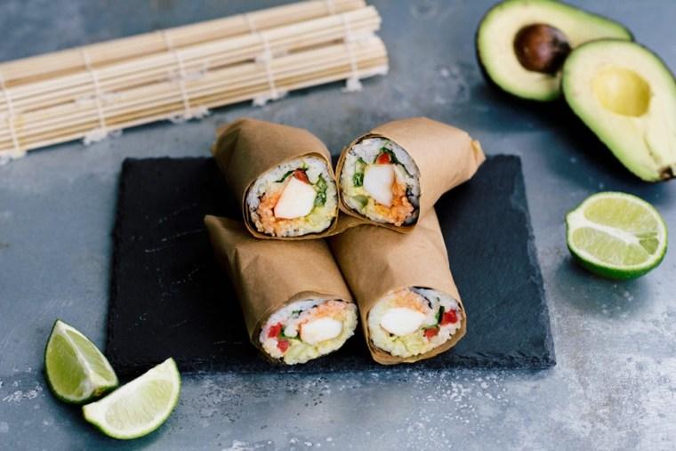 recetas de sushi rapidas-preparar-casa