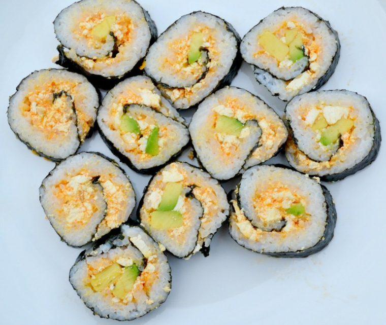 recetas para sushi preparar-casa