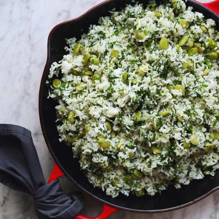 recetas veganas fáciles arroz persiano ideas