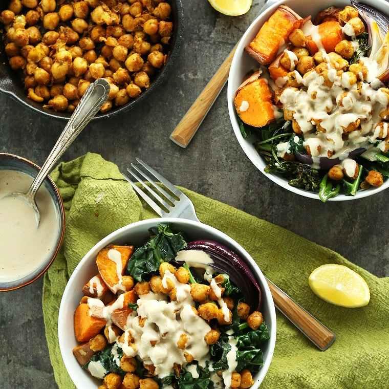 recetas veganas fáciles opciones sanas ideas