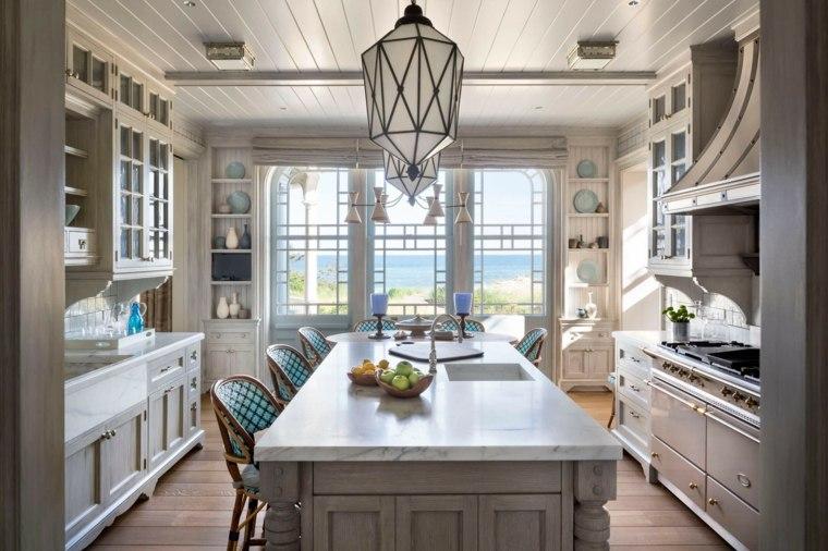 residencia estilo cocina isla ideas
