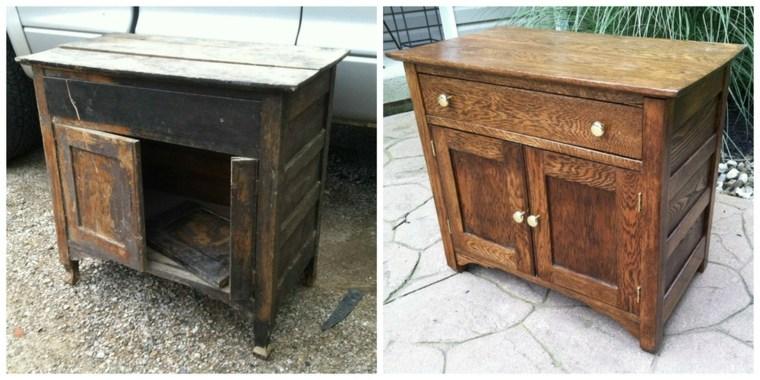 Como restaurar muebles de madera con las mejores - Restaurar mueble madera ...