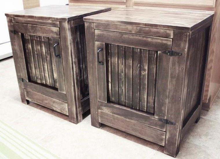 Restaurar muebles antiguos consejos y sencillos trucos - Mesillas vintage ...