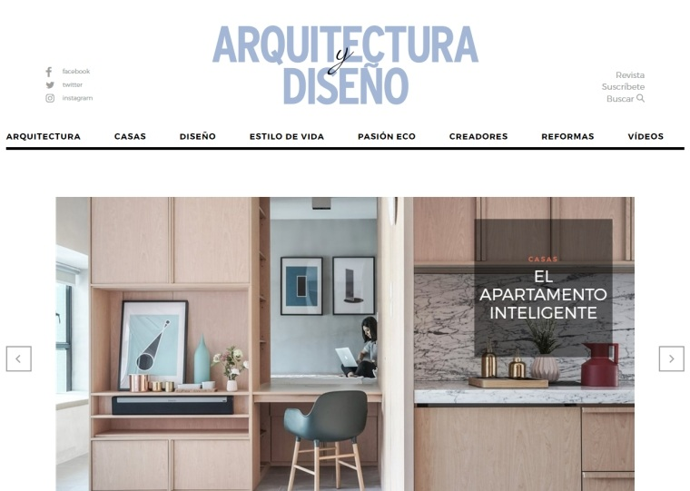 revista diseno casas modernas interiores ideas