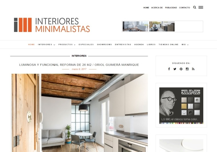 revista online interiores especializada diseno contemporaneo minimalista ideas