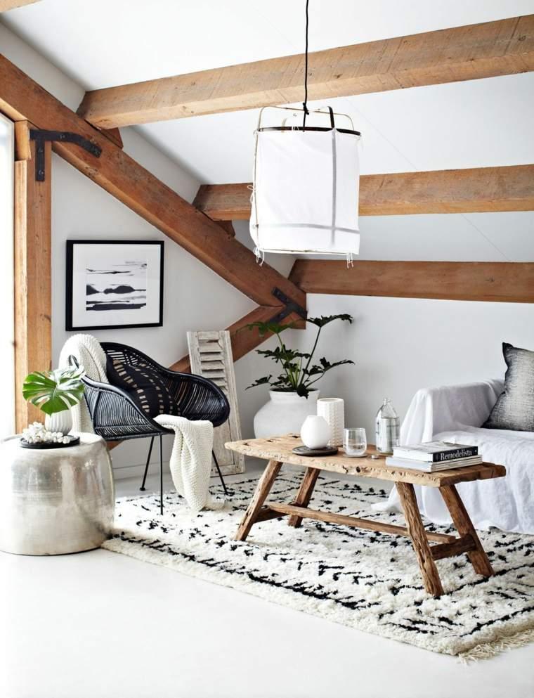 salon rustico decoracion casa