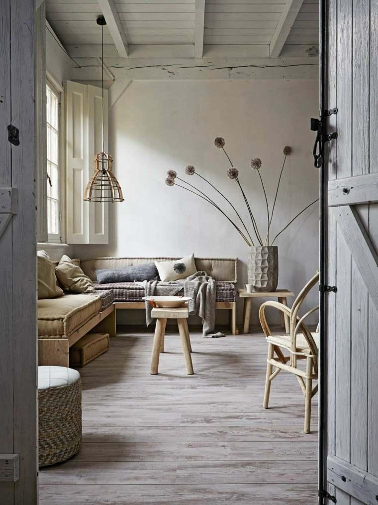 salon rustico decoracion casas