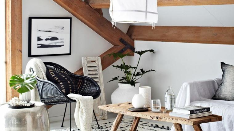 salon rustico decoracion interiores