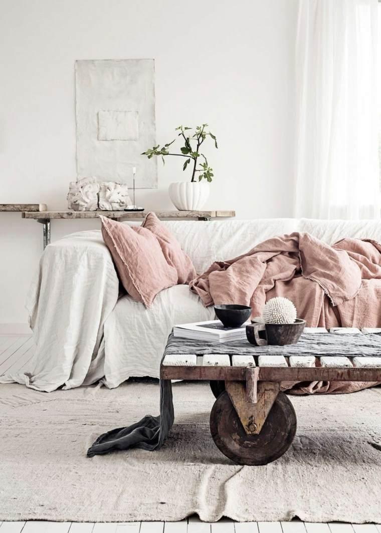 salon rustico elegante