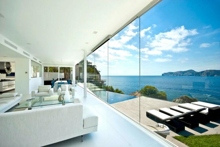 salones vistas muestras unicas diseños muebles