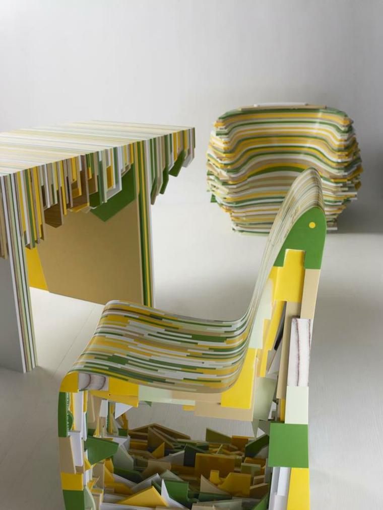 conjunto silla