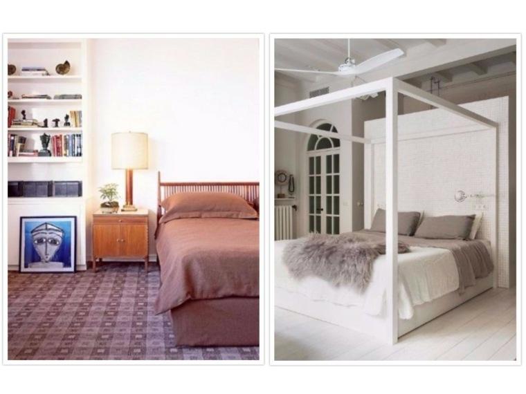simples modelos elegantes salones paredes