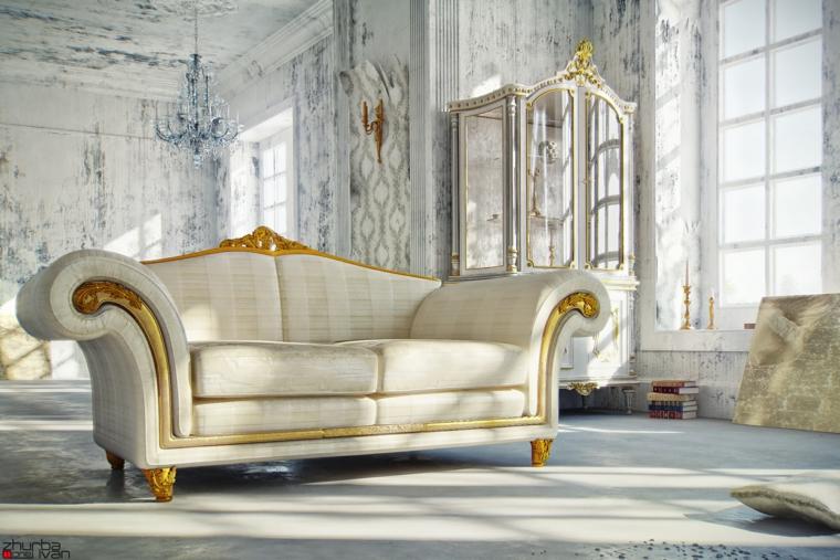 sofá lujoso