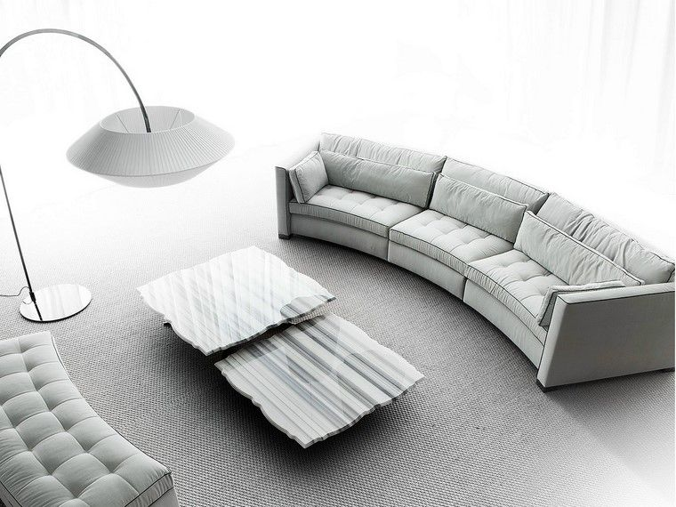 Sof s modernos redondos el complemento perfecto para el for Sofas modernos contemporaneos