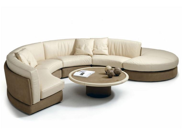 Sof s modernos redondos el complemento perfecto para el for Sofa exterior redondo