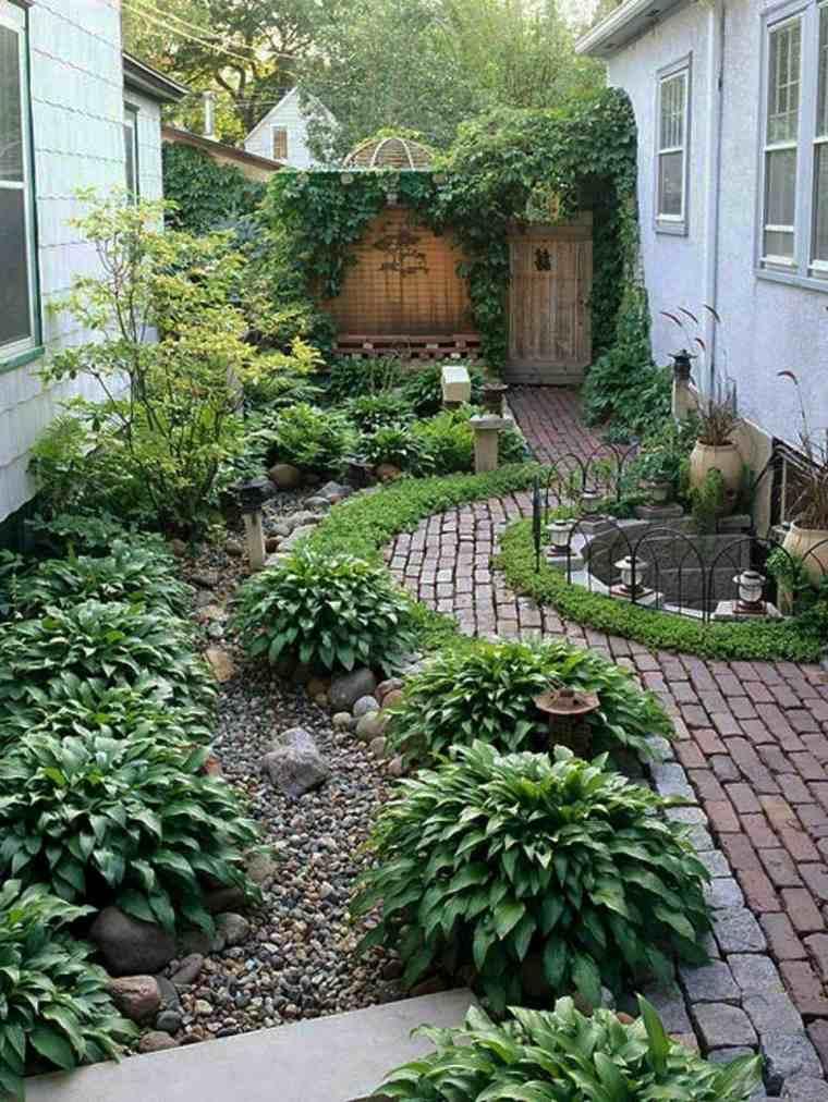 Decoraci n de jardines peque os y patios traseros for Jardines pequenos originales
