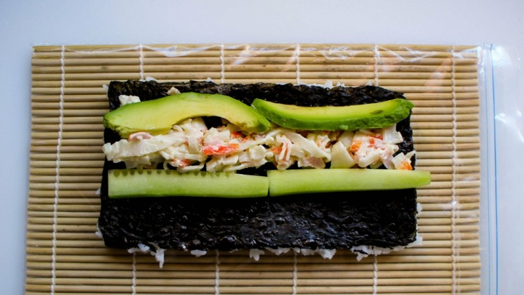sushi recetas cocinar-casa