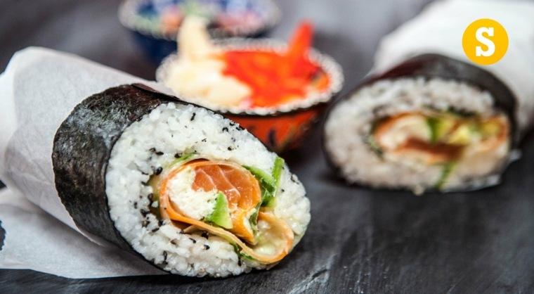 sushi recetas hacer