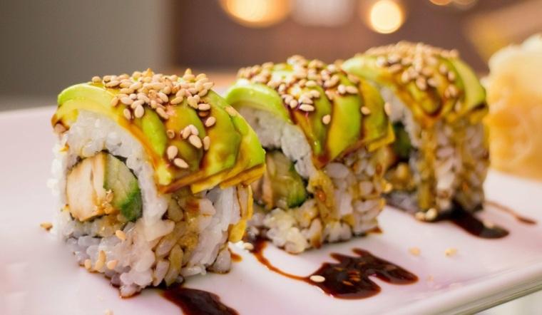 sushi recetas originales-hacer-casa