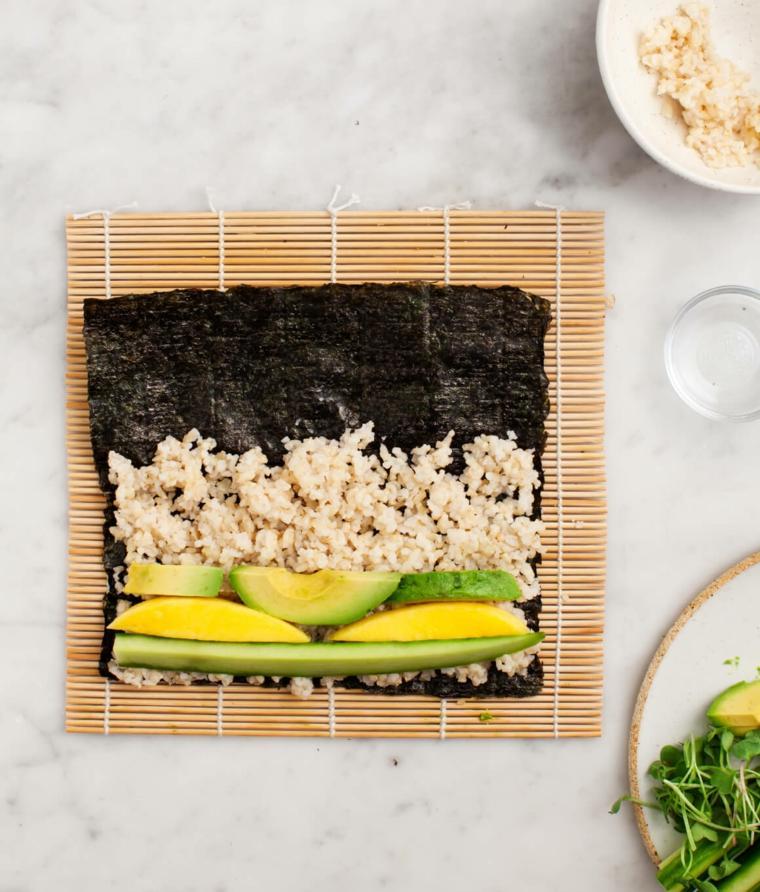 sushi recetas preparar-casa