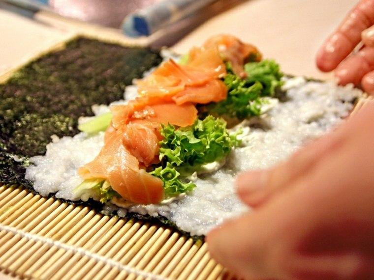 sushi recetas preparar-casas