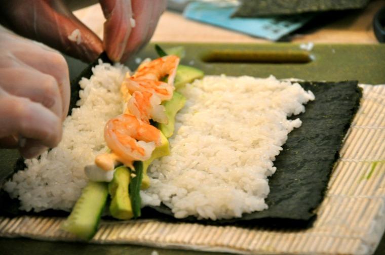 sushi recetas rapidas-hacer-casa