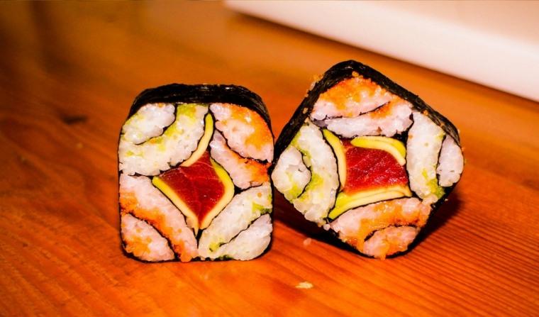 sushi recetas rapidas-originales