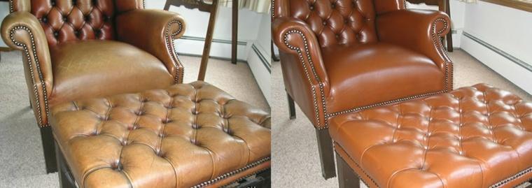 sillón butaca cuero