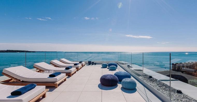 terraza paneles vidrio