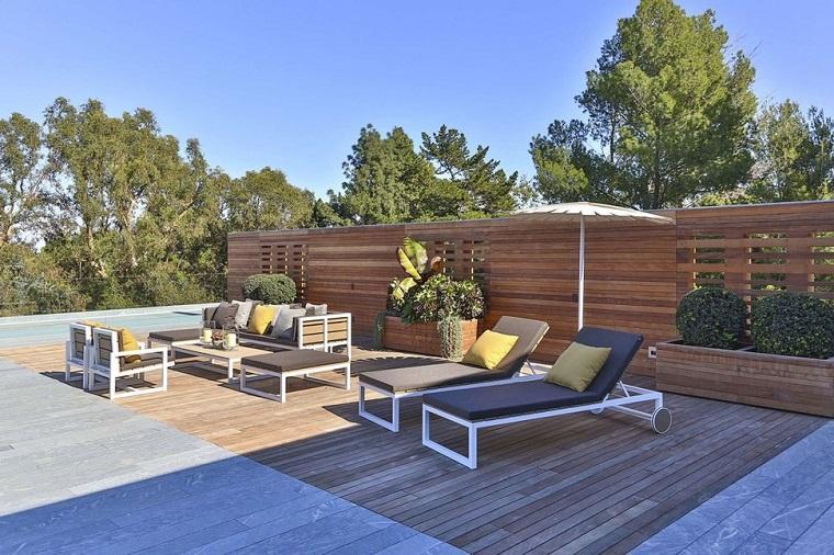 diseño de terraza azotea