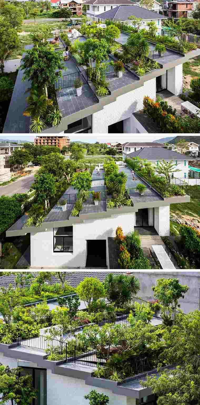 tejado aterrazado