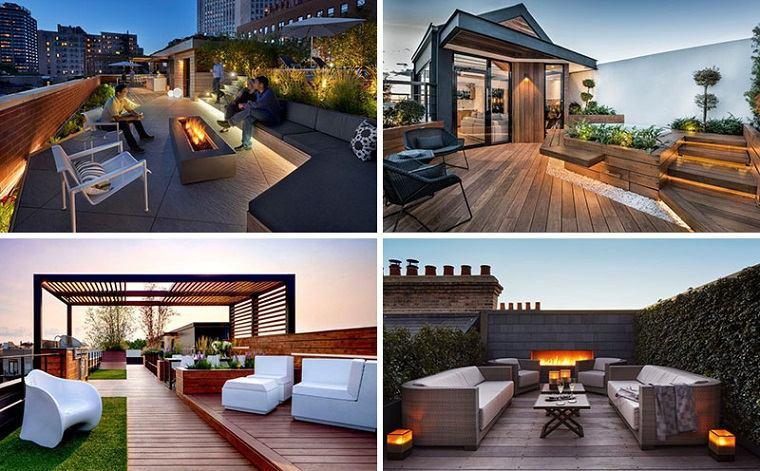 diseños de terrazas
