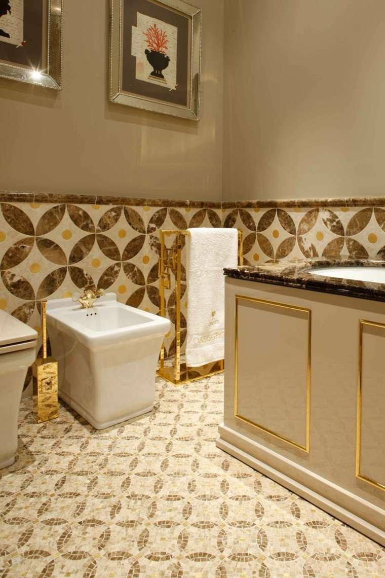 tipos de suelos diseno bano suelo mosaico lithos italia ideas