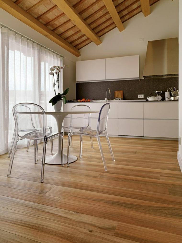 Tipos de suelos de interior y c mo elegir la mejor opci n - Suelo de madera ...