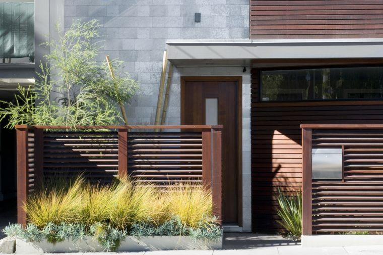 vallas diseños adecuadas inspiraciones madera patios