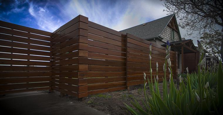 vallas diseños madera superpuesta soluciones flores ambientes