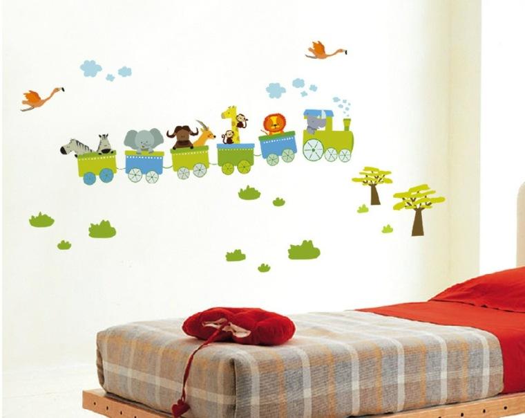 vinilos infantiles para decorar las paredes de los