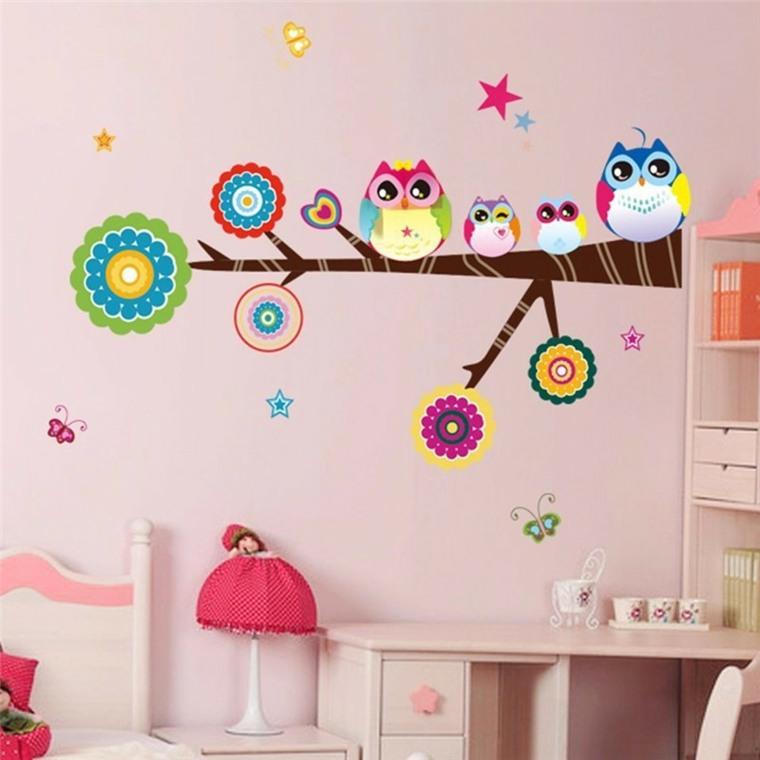 vinilos infantil decorar paredes