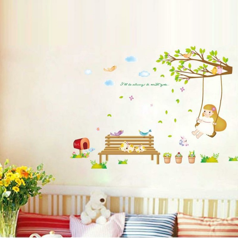 vinilos infantiles decoracion paredes interior