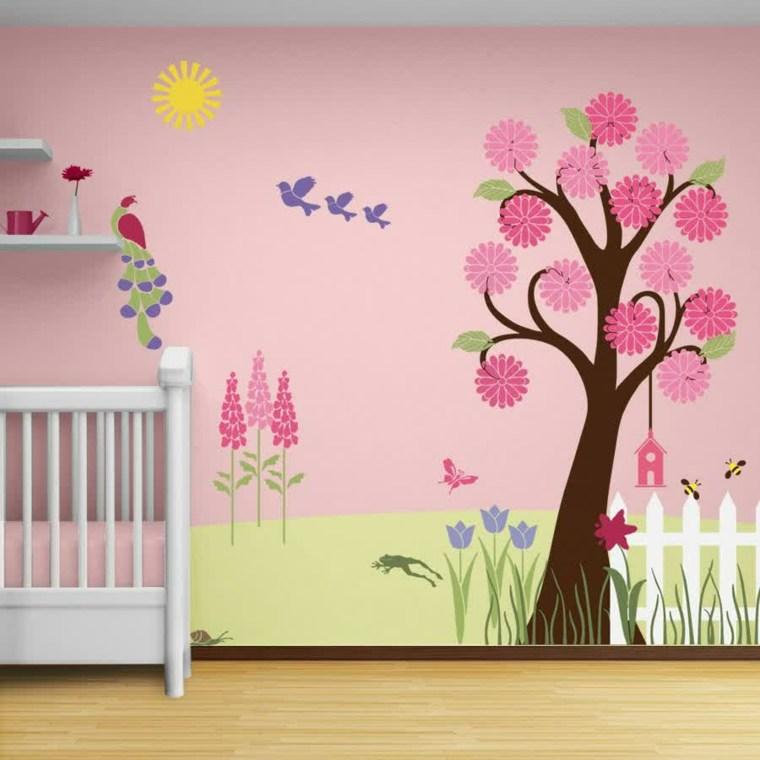 vinilos infantiles decorar paredes modernas