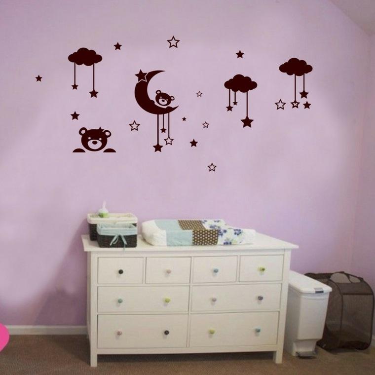 Vinilos infantiles para decorar las paredes de los for Vinilos decorativos para paredes de dormitorios