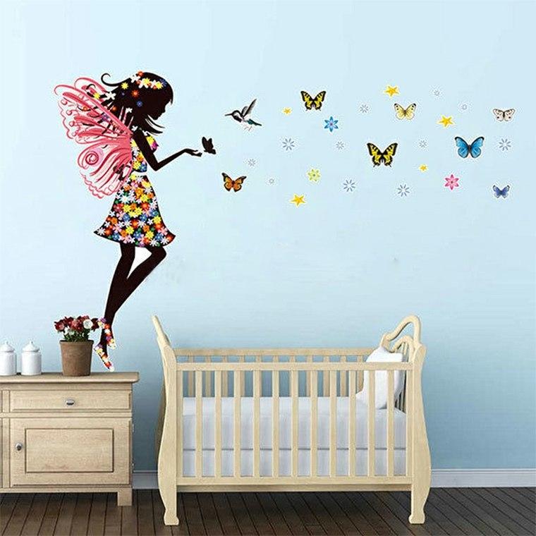 Vinilos infantiles para decorar las paredes de los for Vinilos muebles infantiles