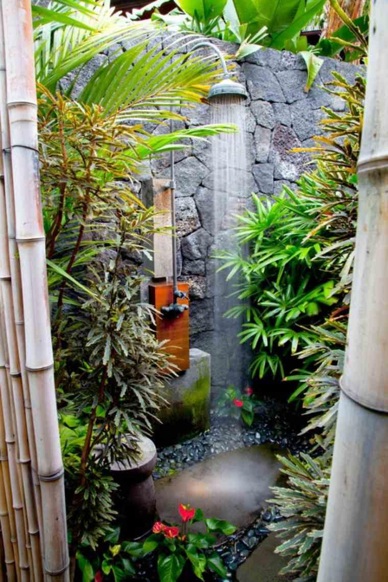 ducha patio