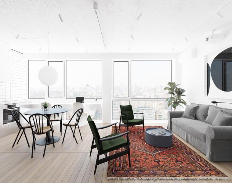 Estudios y apartamentos tipo loft con decoraciones for Decoracion apartamento tipo estudio