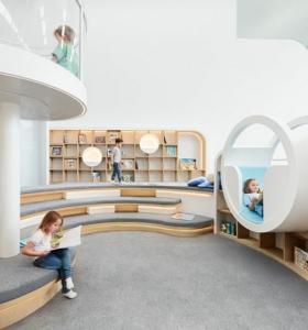 rea recreativa en un centro de juegos con diseo creativo
